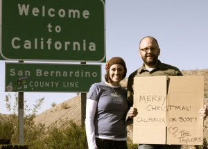 California or Bust!