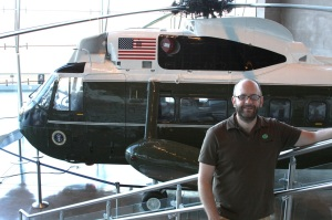 Jon and Marine One