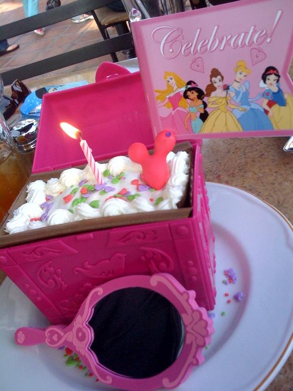 My princess birthday cake!