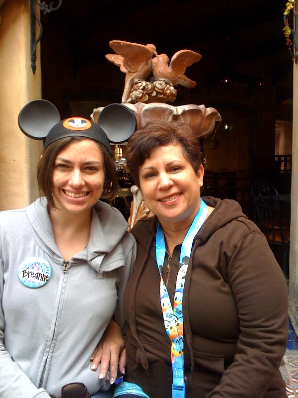 Thanks mom for a great birthday at Disney! :)